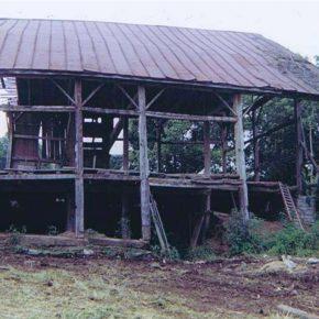 Tear Down An Old Barn